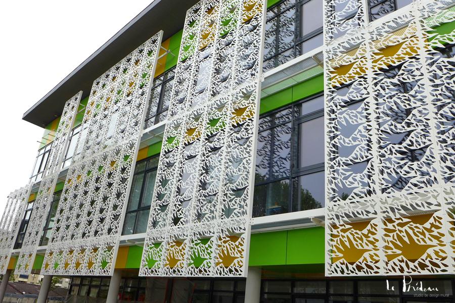 Le Prédeau - design mural extérieur