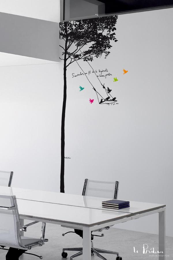 L'arbre balançoire - Murmures ©