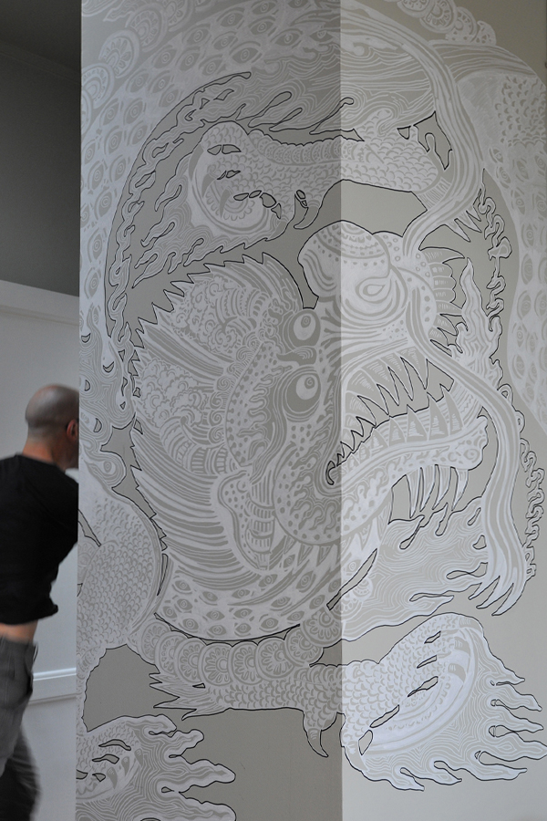 Design mural original by Le Prédeau