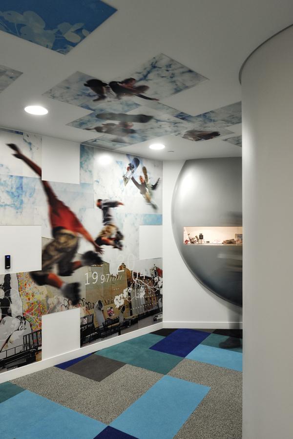Bouygues Telecom - Tour Séquana - Design mural sur-mesure