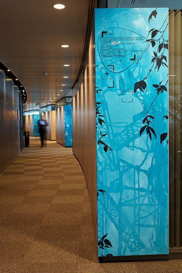 Bouygues Telecom - Siège Social - Design mural sur-mesure