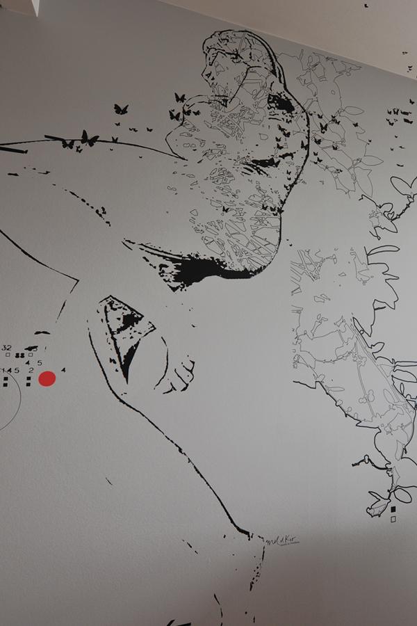 Clinique de la Colline - Design mural sur-mesure - Genève