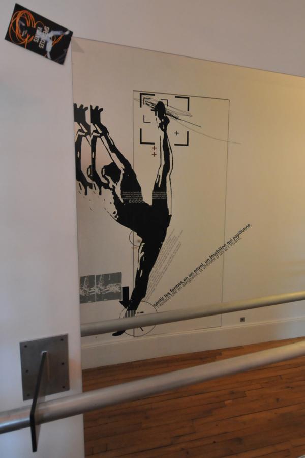 Le danseur - Design mural sur-mesure