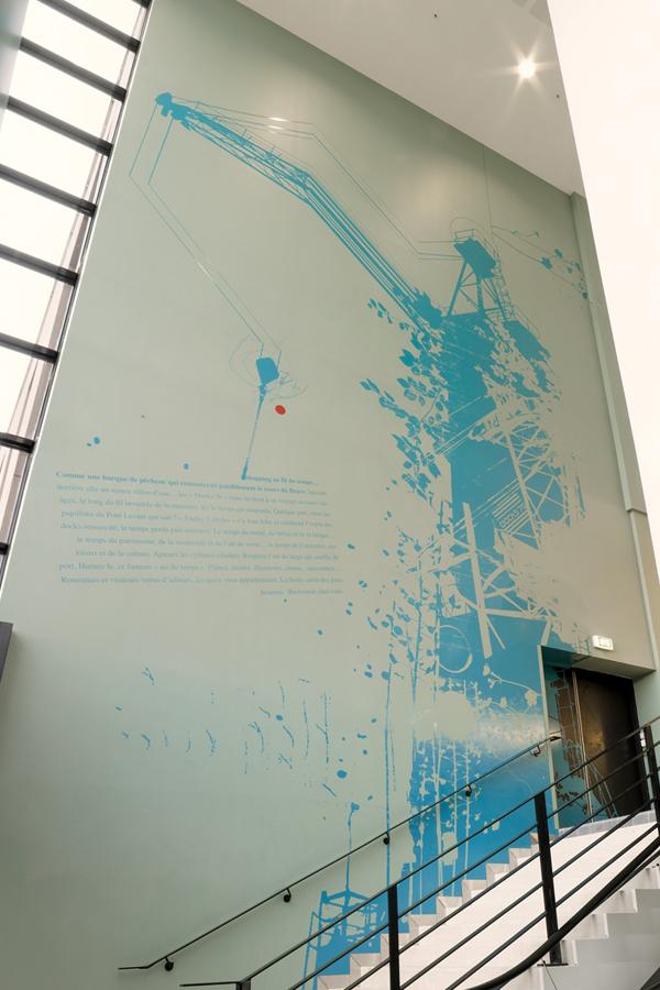 Docks 76 - Design mural sur-mesure