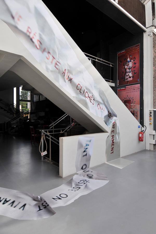 Théâtre de la Foudre - Design mural sur-mesure