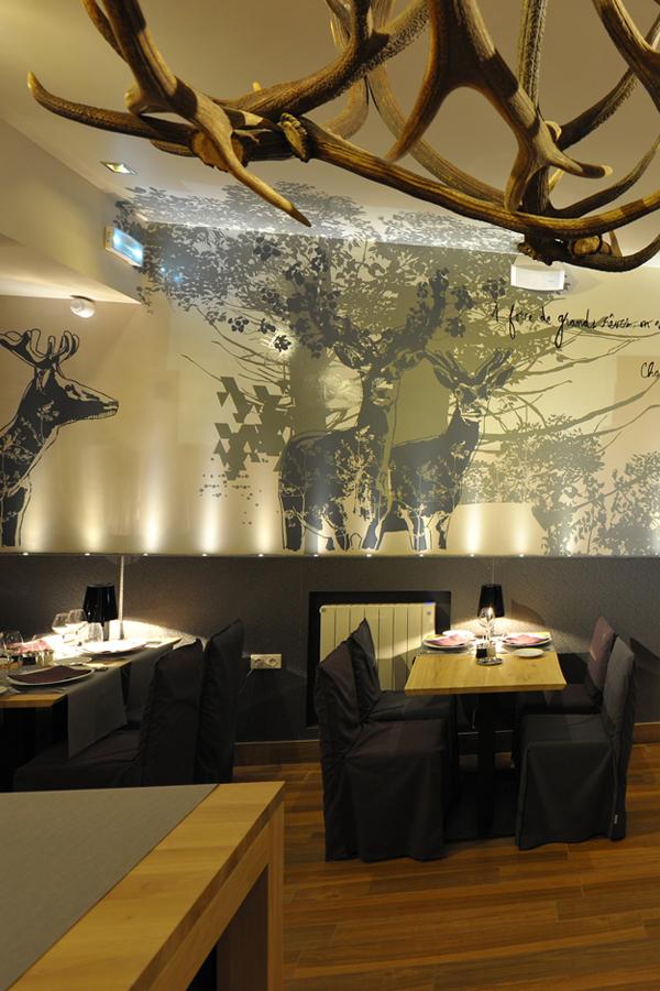Hôtel Le Grand Aigle**** - Design mural sur-mesure