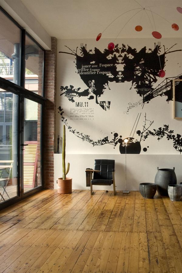 design mural loft sur-mesure