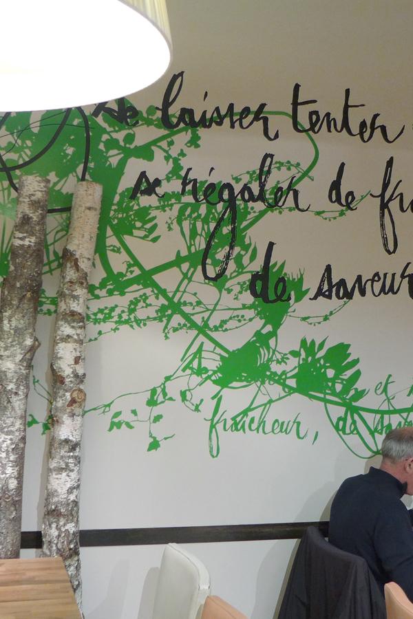 Restaurant Manora - Manor Genève - Design mural sur-mesure