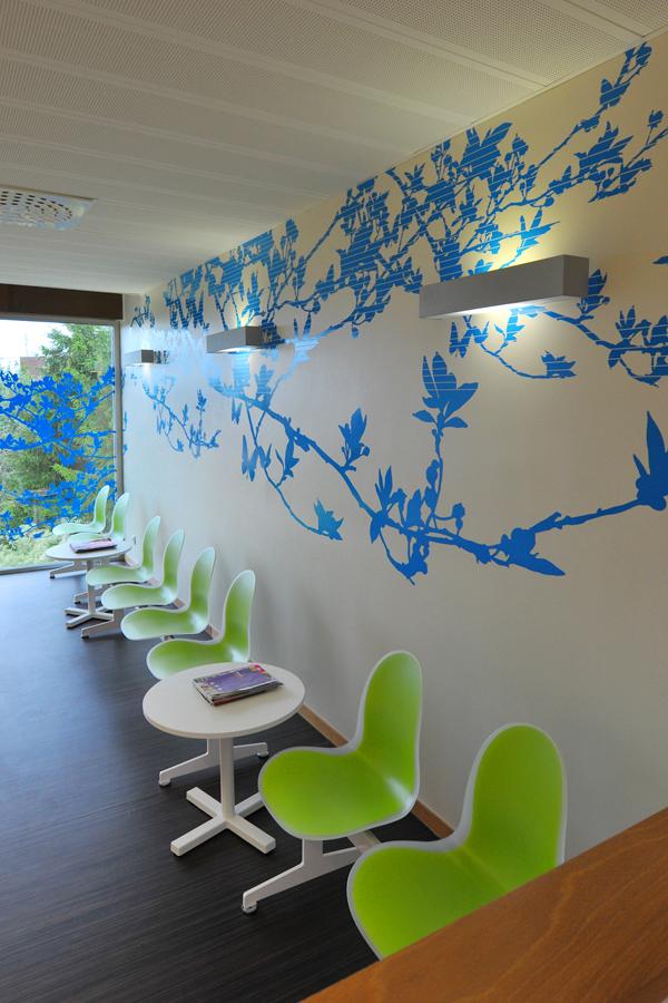 Maison de Santé - Design mural semi-mesure