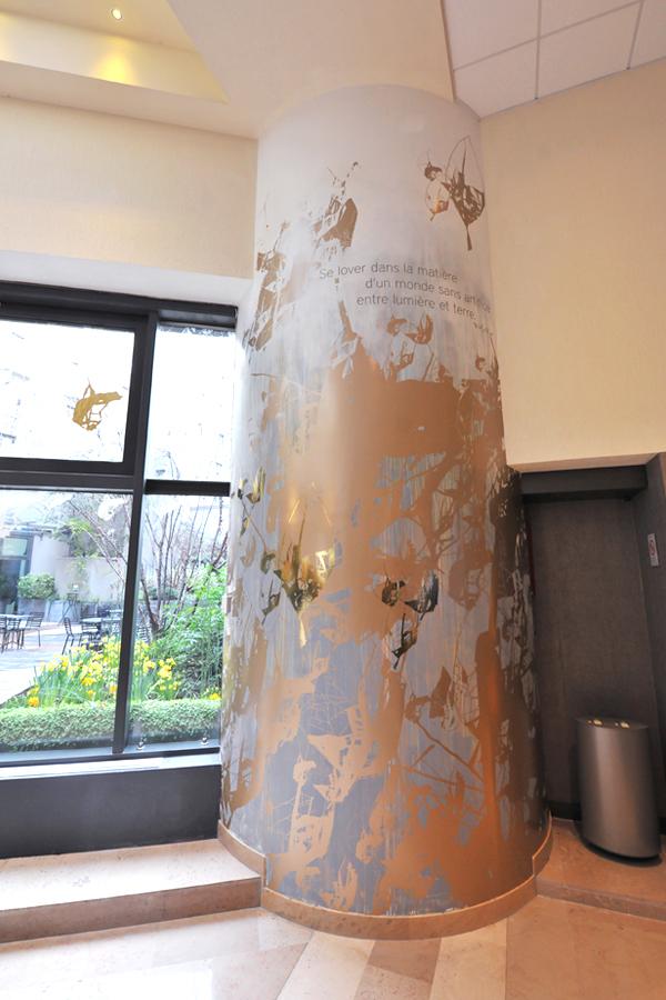 Novotel Les Halles - Design mural sur-mesure