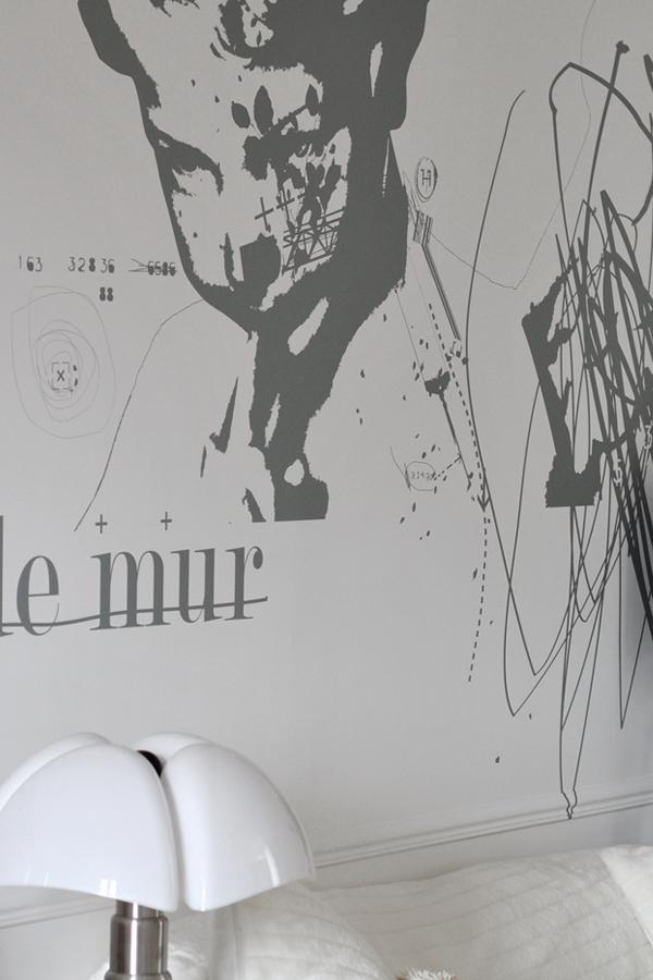 Secret de mur - Design mural sur-mesure