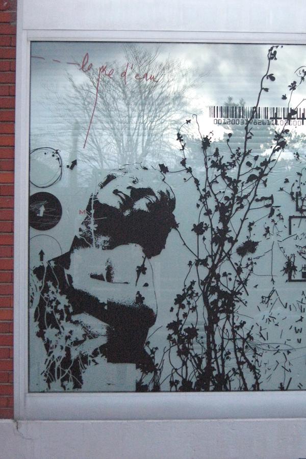 Atelier de design mural - Vitrophanie
