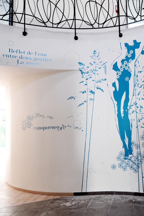 Dessins sur murs pour un SPA à Dijon