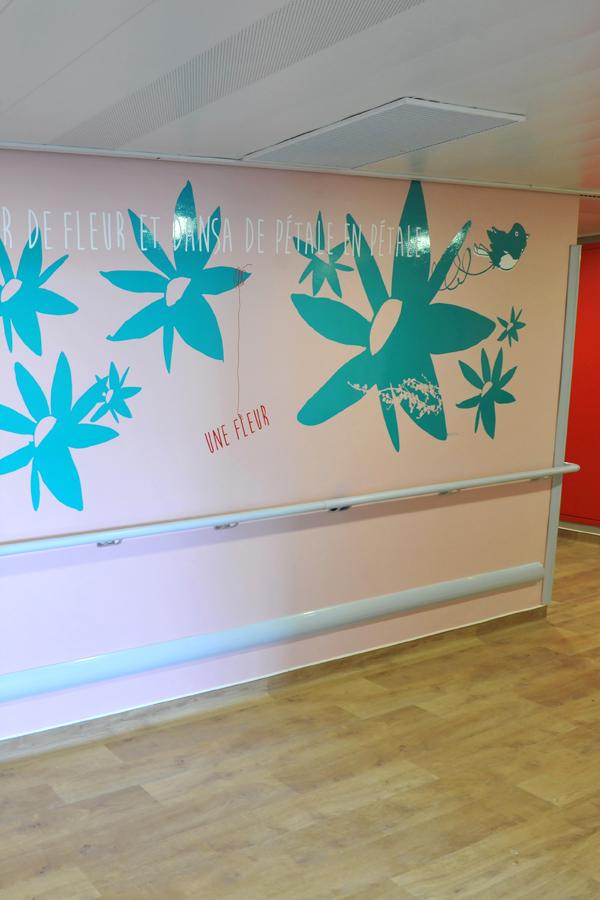 Hôpital de la Timone - Design mural semi-mesure