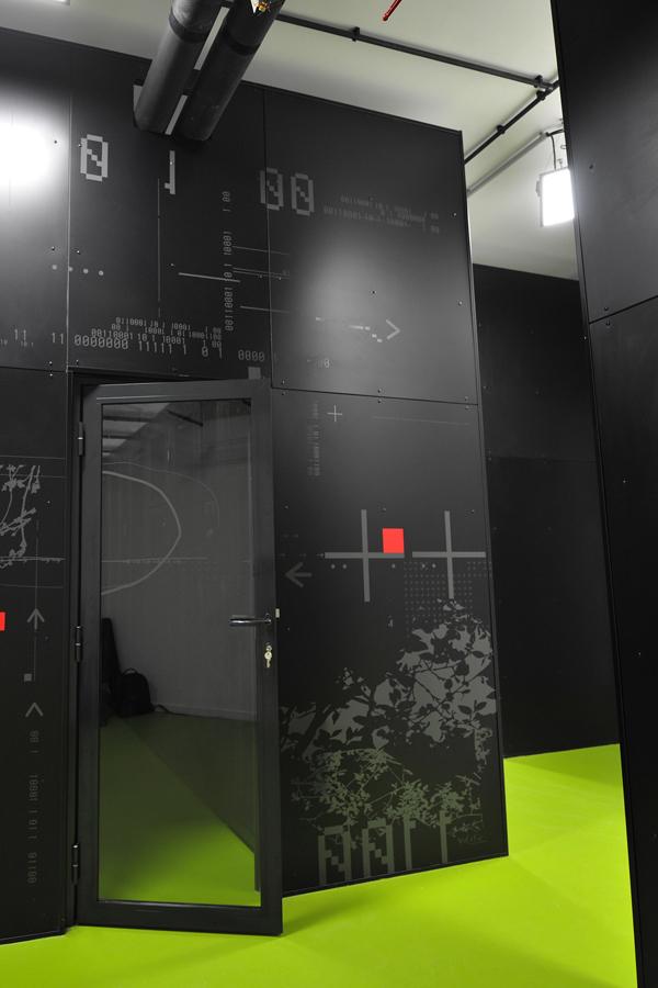 Webaxys - Design mural sur-mesure