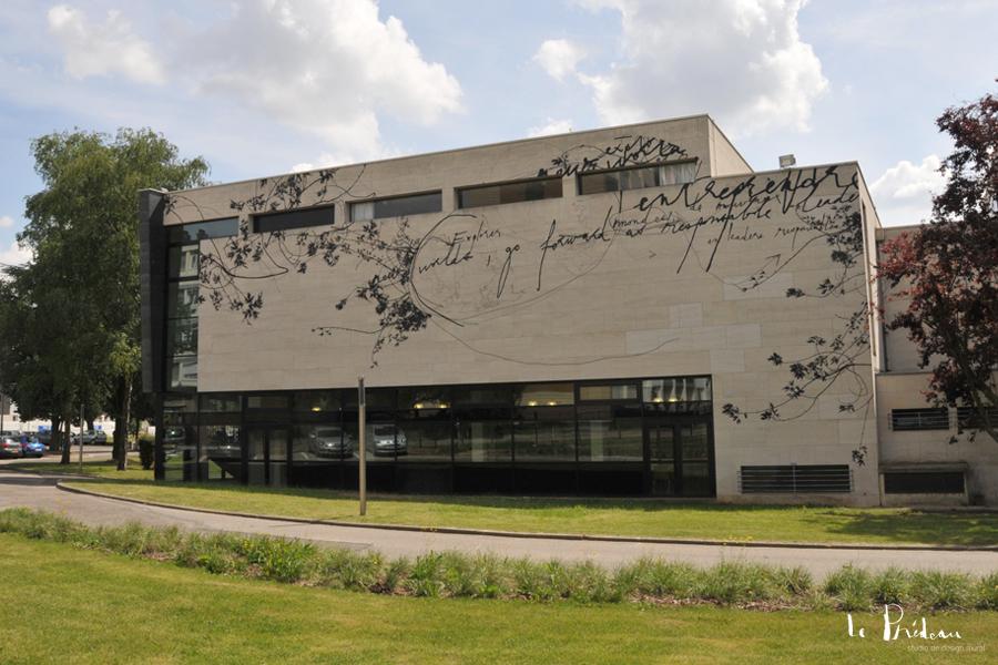 Le Prédeau - design mural